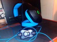 PC Gaming Headset Element Gaming Neon 250,7.1 Surround Sound,TeamSpeak Verified.