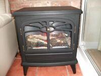 Flame effect imitation log burner