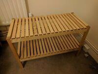 IKEA MOLGER - Bench, birch