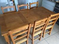 FREE! Table and 6 chairs
