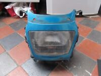 SUZUKI BANDIT 600/1200 MK1 HEADLIGHT, SURROUND & BRACKET