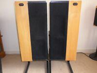 Vintage Strathearn Audio speakers. Made in Belfast in 1970's.