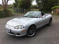 Mazda MX5 1.8 Euphonic ** low milage 66k, FSH and recent cam belt **