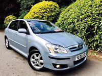 **2006+AUTO** TOYOTA COROLLA 1.6 CLCLN AUTO + FULL SERVICE HISTORY + 2 KEYS + PSENSRS + 2OWNER+CLEAN