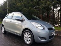 2010 TOYOTA YARIS TR 1.3 VVT-I PETROL 6SPEED 1OWNER FROM NEW IMMACUALTE LOW MILEAGE EXAMPLE MOT JAN-