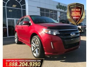 2014 Ford Edge Sport| AWD| Leather| Sunroof| Remote Start