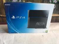 Ps4 only box 500gb emty box with leaflet £10