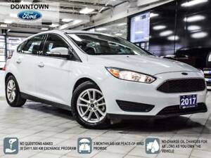 2017 Ford Focus SE, Back up Cam, Blue tooth, Low KM, Trade-in
