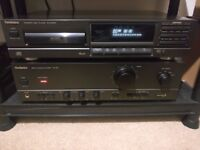 Technics SU-810 Stereo Amplifier and Technics SL-PG100A CD Player Seperate Hi-Fi System