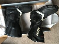 Motorbike boots - size 11 - excellent condition - little use