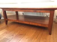 COFFEE TABLE - MAHOGANY - EXCELLENT CONDITION - QUICK SALE!