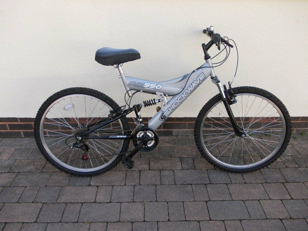 e29b028e7f6 Mens / Ladies Shockwave 550 Mountain Bike # Full Suspension # Hardly been  used # View Exeter