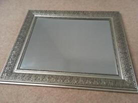 Silver Coloured Mirror