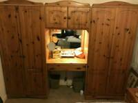 Wardrobes Chester draws bedside units