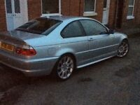 Stunning BMW 330 ci m sport coupe low mileage 78000 .