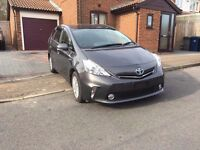 TOYOTA PRIUS PLUS HYBRID, 7 SEATS, WARRANTED 25000 MILES WITH AUCTION SHEET, FRESH IMPORT