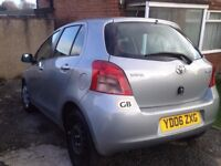 IMMACULATE TOYOTA YARIS/VERY FUEL EFFICIENT/GOOD MILEAGE