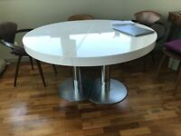 Ligne Roset expandable dining room table