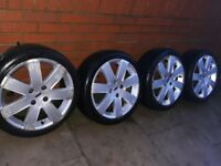 "FORD FOCUS 17"" ALLOYS 4X108 FIESTA SIERRA ESCORT ORION XR2 XR3i RS TURBO etc BARGAIN £100"