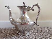 Silver Nickel teapot