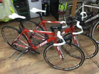 For Sale: New Cinelli Saetta Carbon Road Bikes, 2 available (L 52cm) & (M 48cm) Veloce 10sp, Red