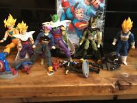 Figurines : Dragon Ball and The Avenger