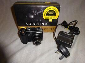 Coolpix P5100 digital camera