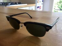 Ray-Ban Clubmaster - NEW, nether worn