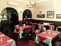 Full time team members for busy Italian restaurant