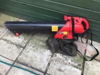 Vac leaf blower...