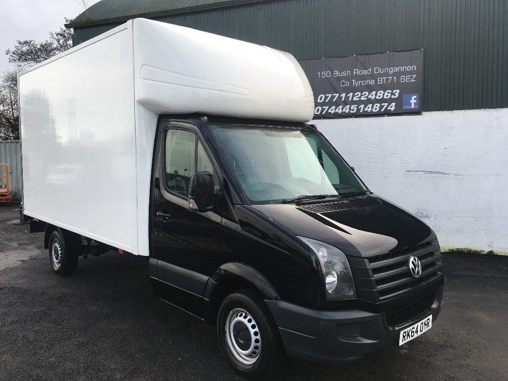 2014 CRAFTER LWB 136BHP LUTON WITH TAIL LIFTFINANCE AVAILABLE