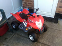 Quad Bike electric ride on. Suitable for age 3+, excellent condition, hardly used. £70 ono