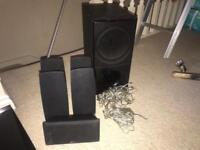 LG home cinema speakers