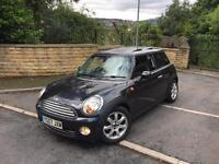 2007 (07) MINI Cooper, 1.6, Panoramic Roof, Heated Leather, FSH , Long MOT