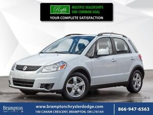 2012 Suzuki SX4 JX | FWD | 1 OWNER TRADE-IN