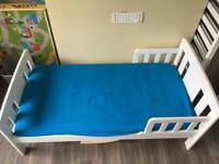 John Lewis Boris Toddler Bed plus mattress