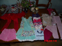 Bundle of girls clothes aged 4-5 years