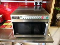 SANYO INDUSTRIAL CATERING 1900w MICROWAVE OVEN