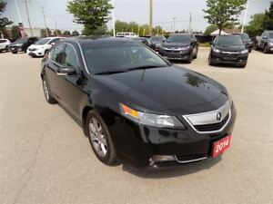2014 Acura TL W/Tech Package... NAVIGATION SYSTEM... LOW KMS