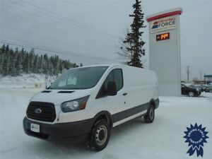 "2015 Ford Transit T-250 130"" WB Low Roof Cargo Van, 3.7L Gas"