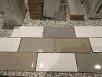 Metro tiles for bathroom or kitchen