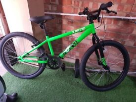 NEW X-Rated BMX bike 24inch/2.30 + Free scooter, inc. delivery within 20 miles