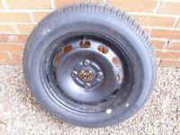 175x65x14 tyre and wheel 4 stud wheel