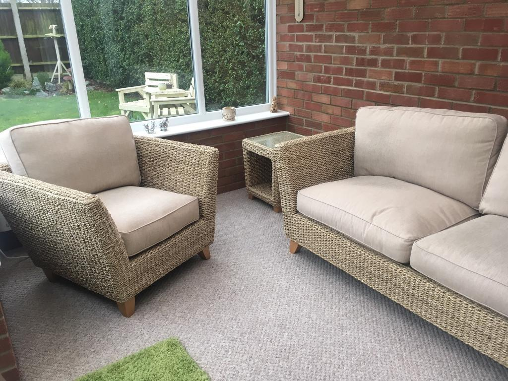 Marks And Spencer Conservatory Furniture Set As New