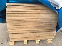 💥Hardwood Exterior Plywood • 8x4 Sheets • New Wooden