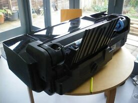 A1 tabletop hp T120 eprinter + part used ink cartridges, no longer required owing to retirement