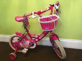 Girls bike 3-5years