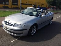 SAAB 9-3 2.0 AUTOMATIC CONVERTIBLE LOW MILEAGE HEATED LEATHERS FULL HISTORY 1 FORMER OWNER