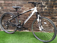 """Adults CARRERA CROSSFIRE 1, 17"""" Alloy Frame, 21 Speed Bike VGC SERVICED RRP £360"""