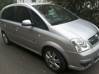 Vauxhall Meriva 1.6, MPV Manual, Petrol. Excellent condition.
